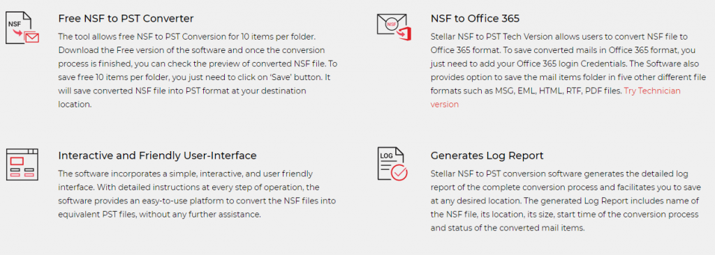 NSF to PST Converter Advantages