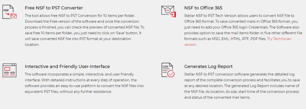 NSF to PST Converter Advantages
