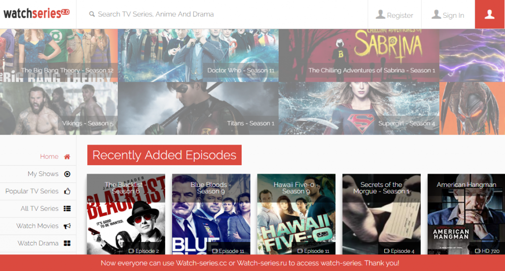 9072a7c19c1b You can visit Watch Series to watch your favorite movies and TV Shows. It  is a quite popular and a highly reliable site. The vast database makes it  easier ...
