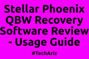 Stellar Phoenix QBWRecovery Software