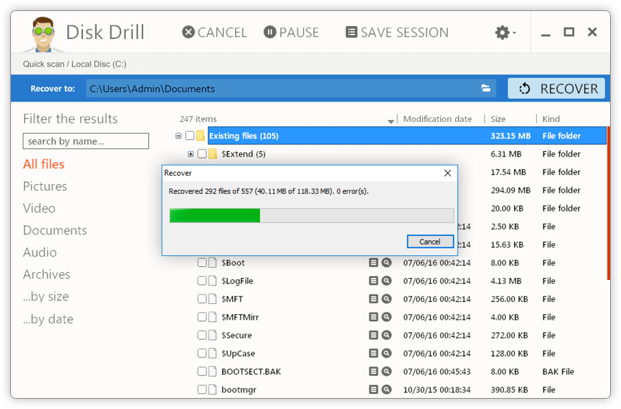 Disk Drill Deleted Files Recovery