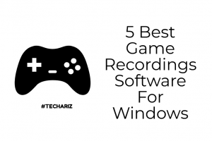 Game Recordings Software