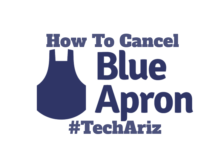 Cancel Blue Apron Account