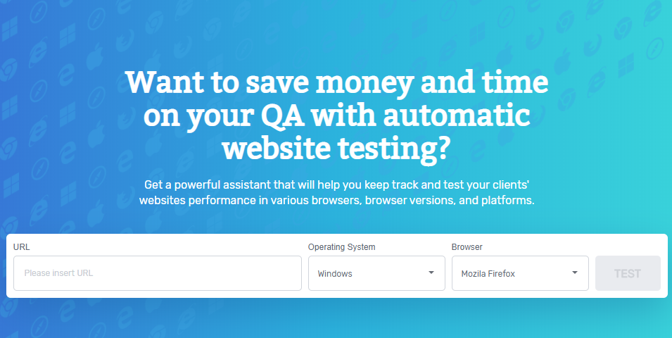 Comparium Cross Browser Testing Tool