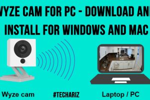 Wyze Cam for PC Download and install for Windows and Mac