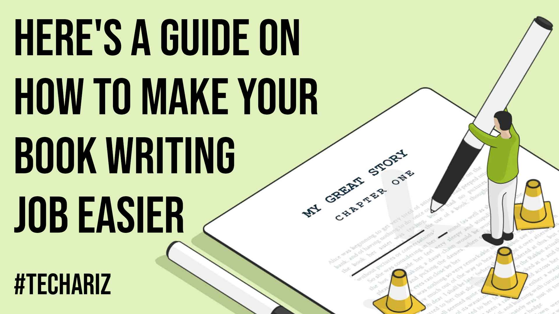 Here A Guide On How To Make Your Book Writing Job Easier