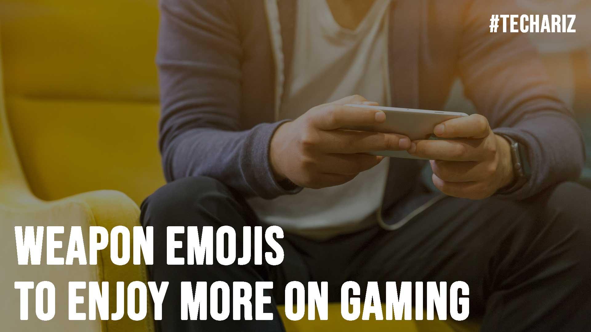 Weapon Emojis to Enjoy More on Gaming