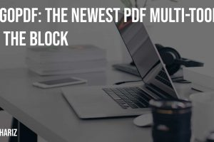 GoGoPDF The Newest PDF Multi Tool on the Block