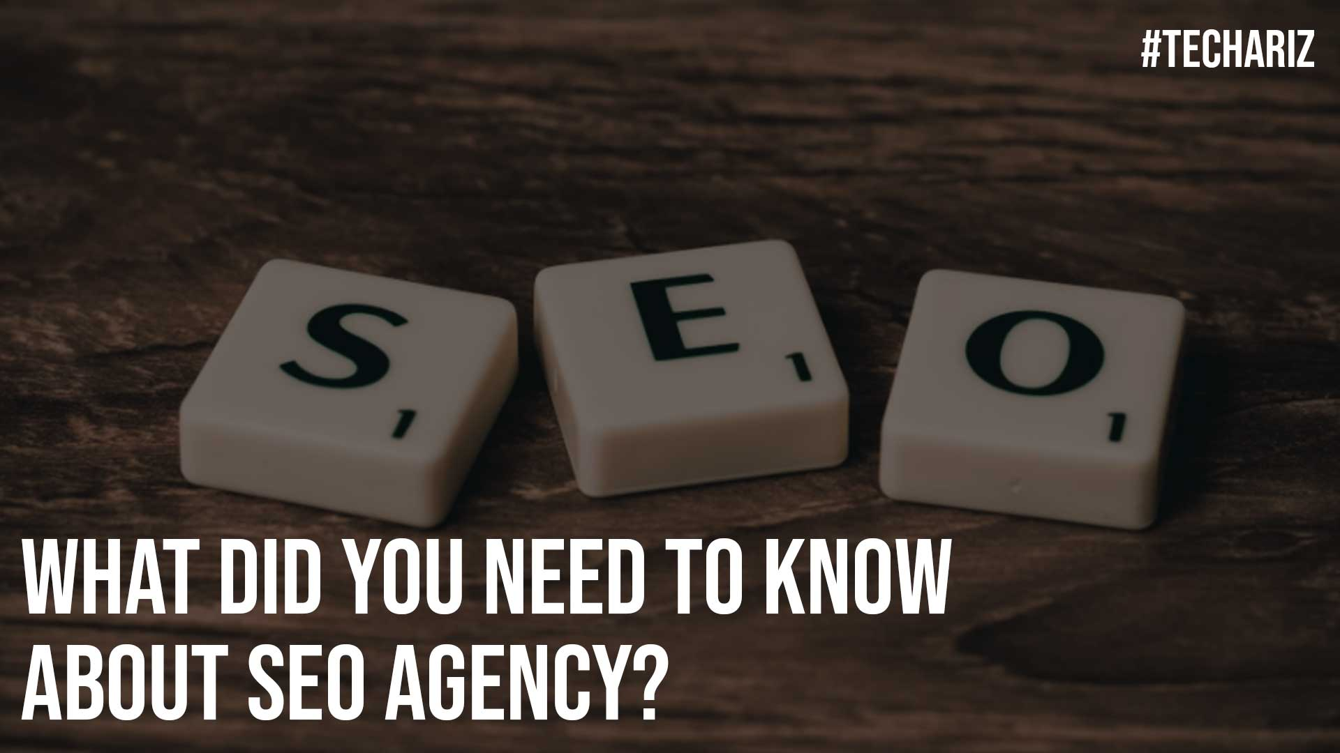 What Did You Need to Know About SEO Agency