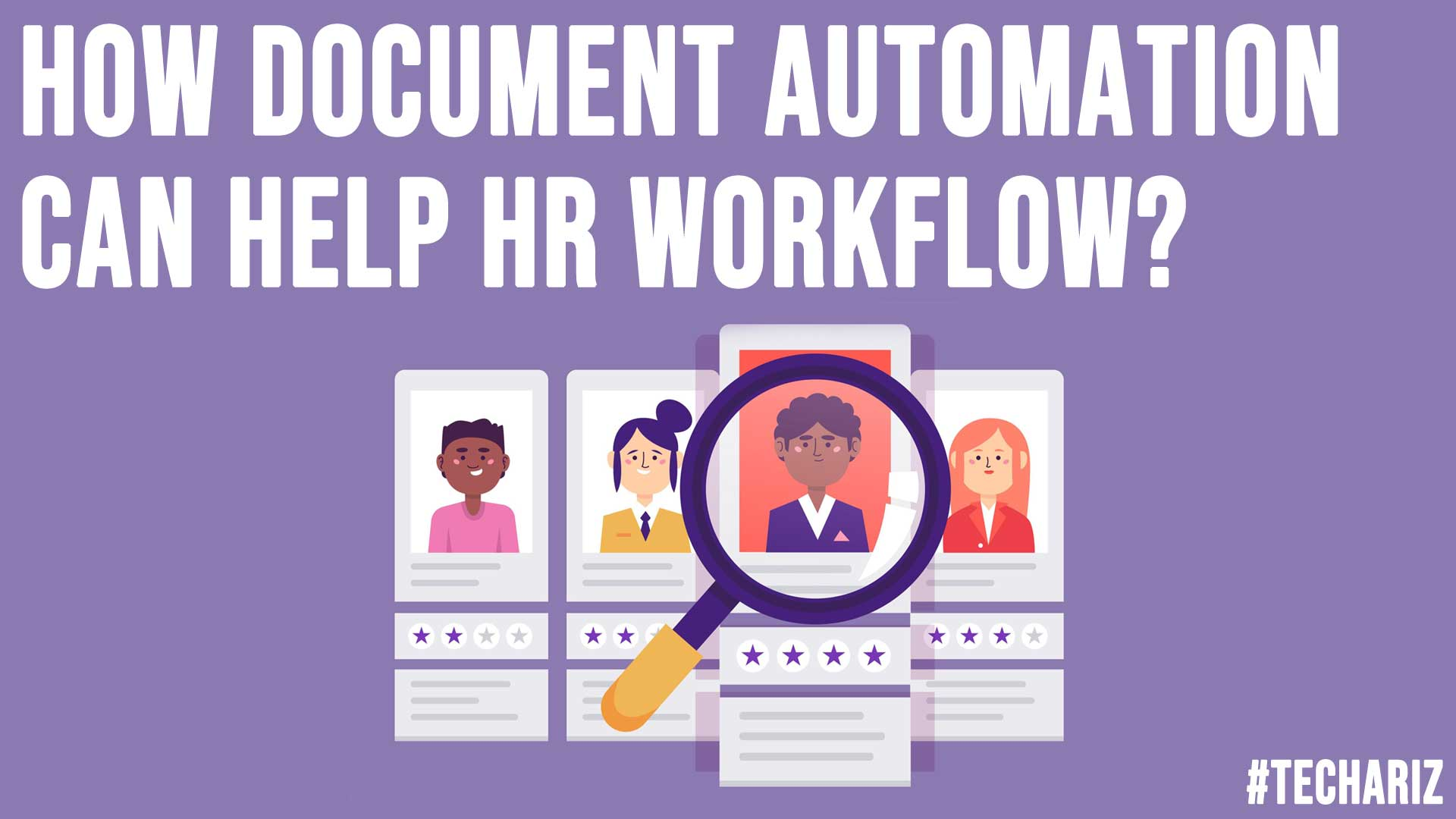 How Document Automation Can Help HR Workflow