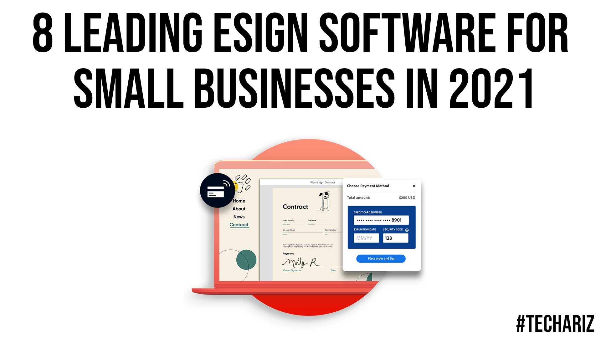 8 Leading eSign Software for Small Businesses in 2021