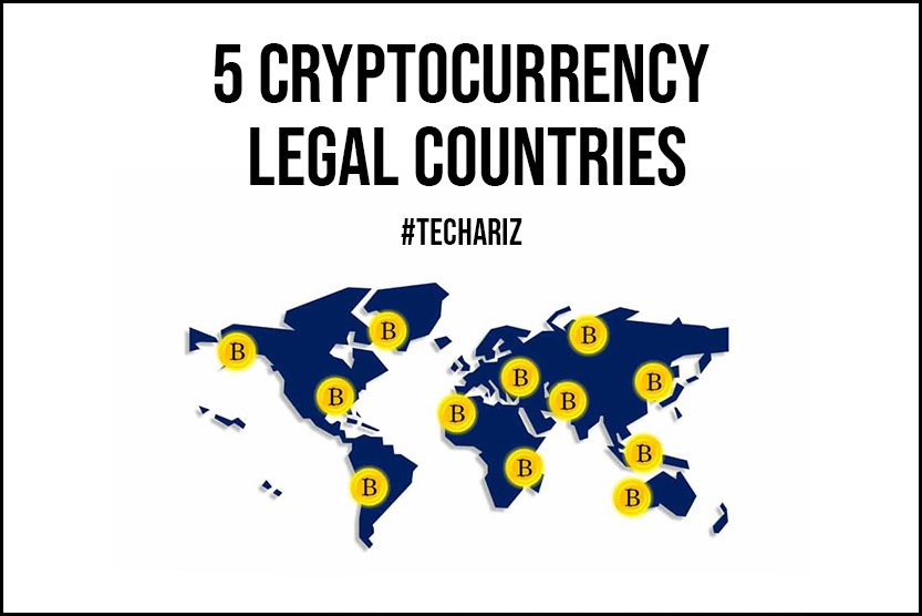 5 Cryptocurrency Legal Countries in 2021